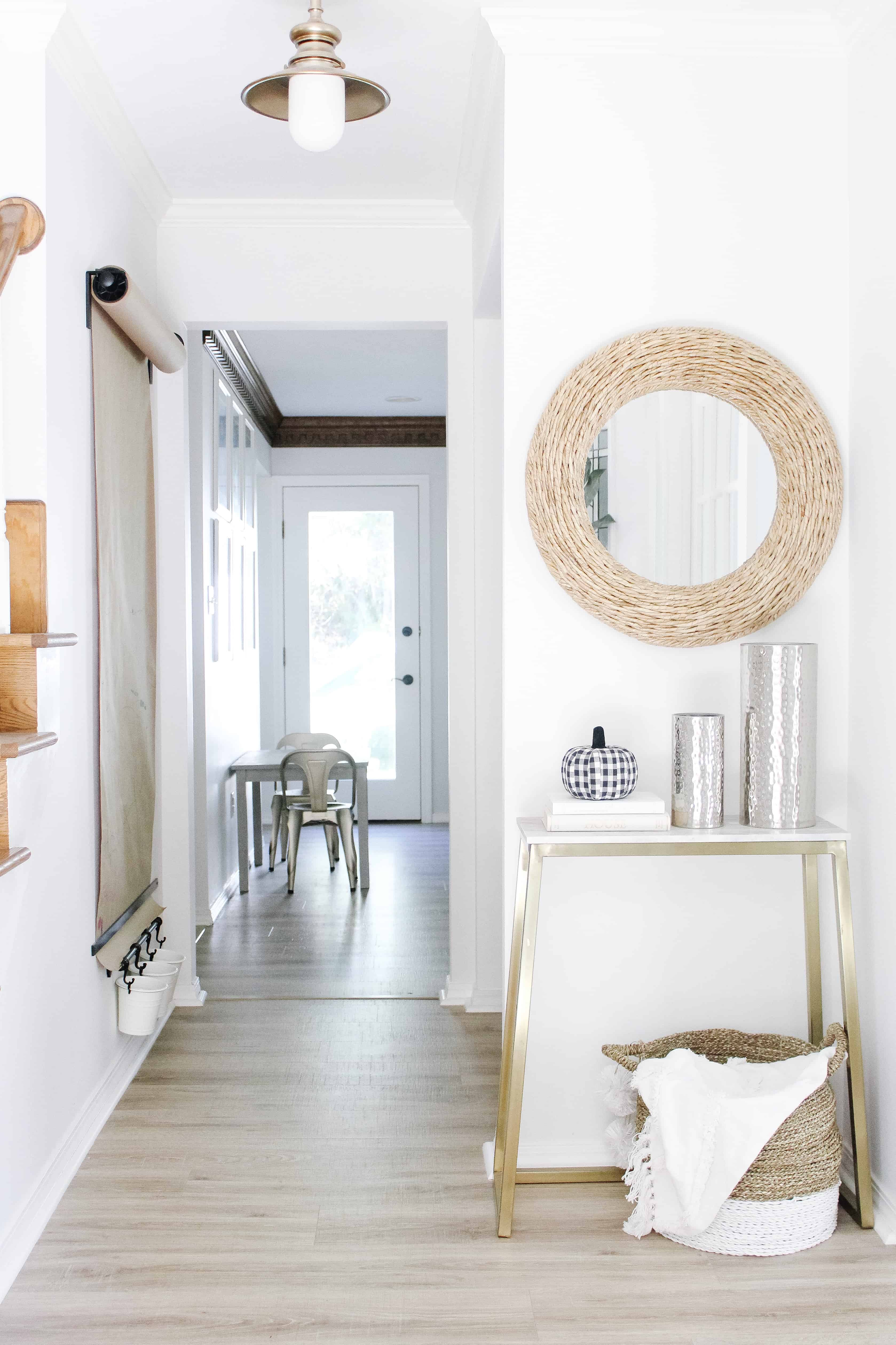 Fall home entry way