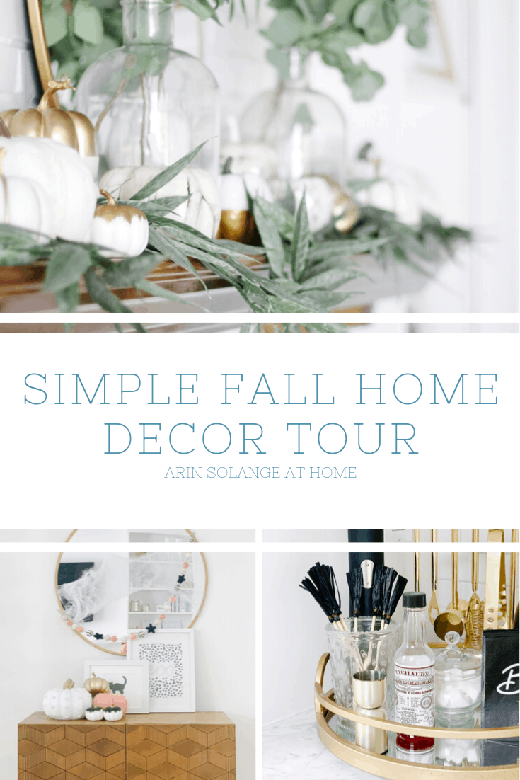 Simple fall home decor