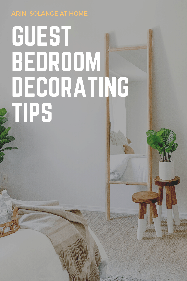 tips on decorating a guest bedroom