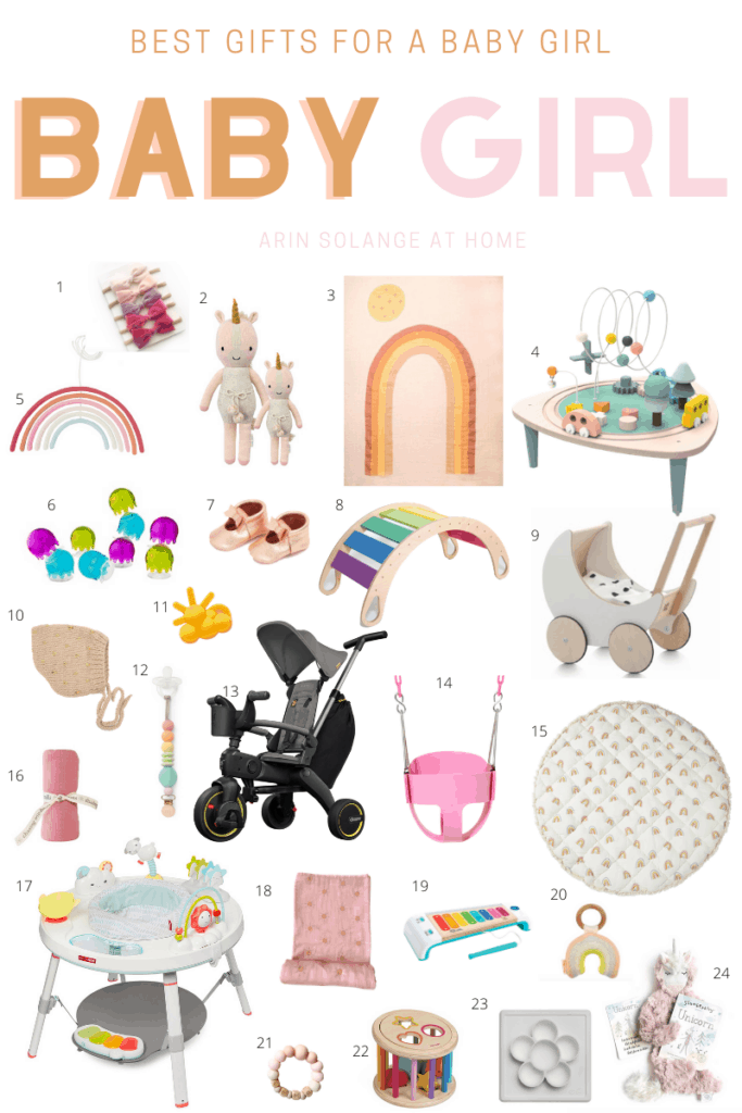 Best gifts for baby girl