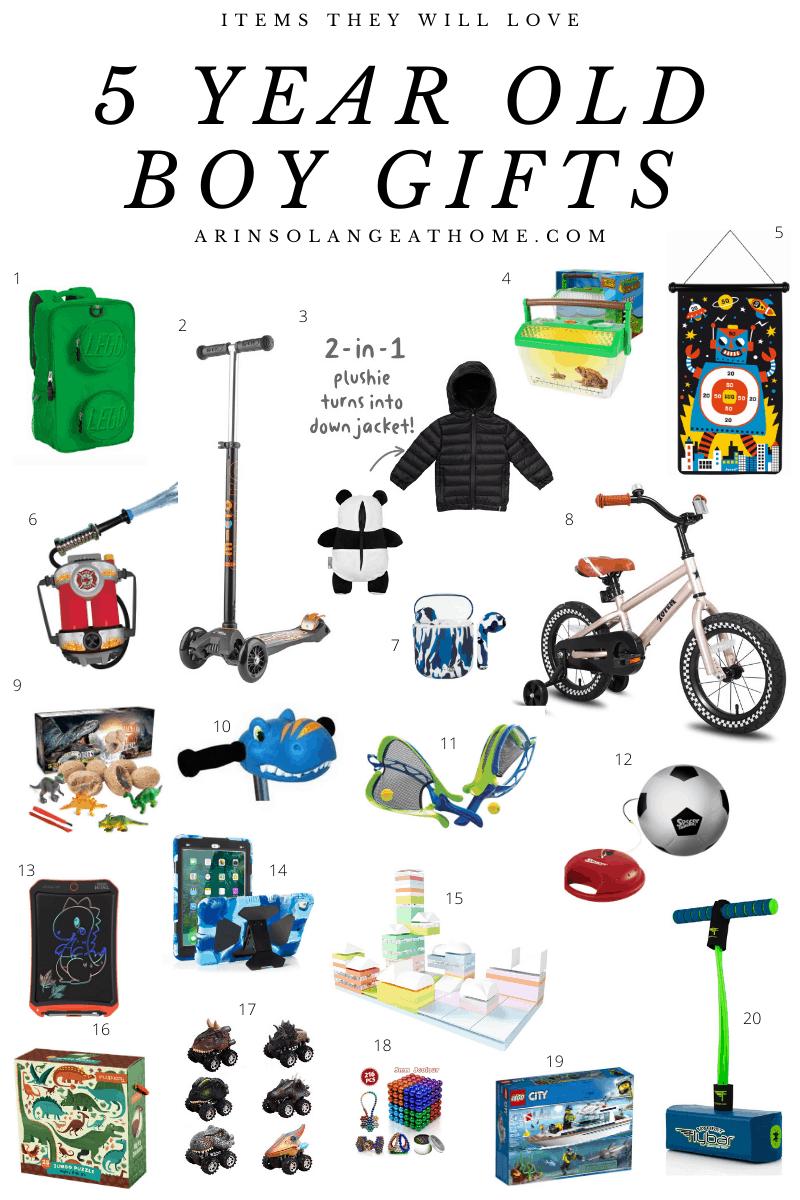 5 Year Old Boy Gifts Arinsolangeathome