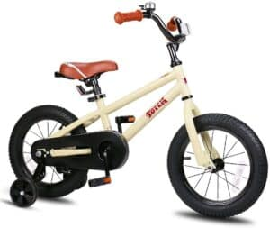 boys bike with leather seats