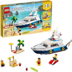 yacht lego kit