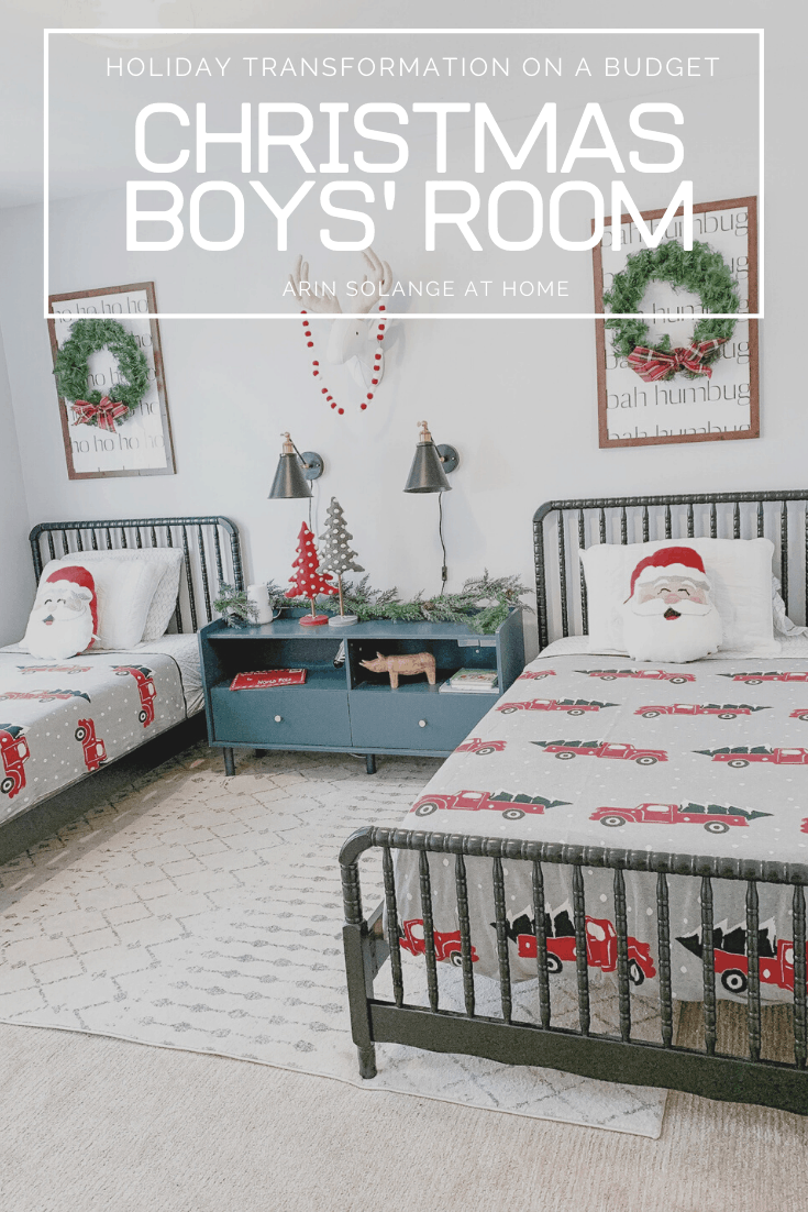 Christmas Boys' Room