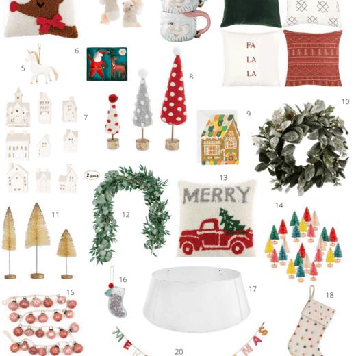 Amazon Christmas Decor round up