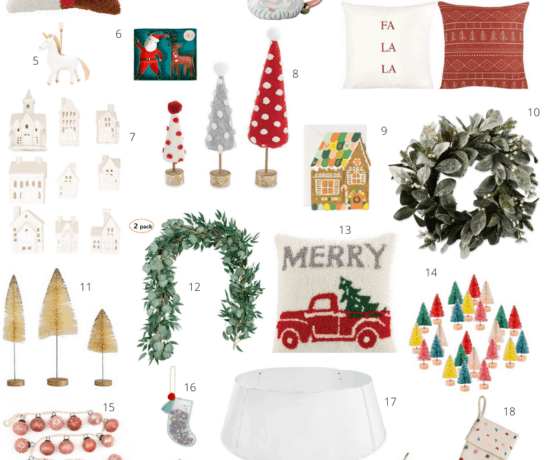 Amazon Christmas Decor round up