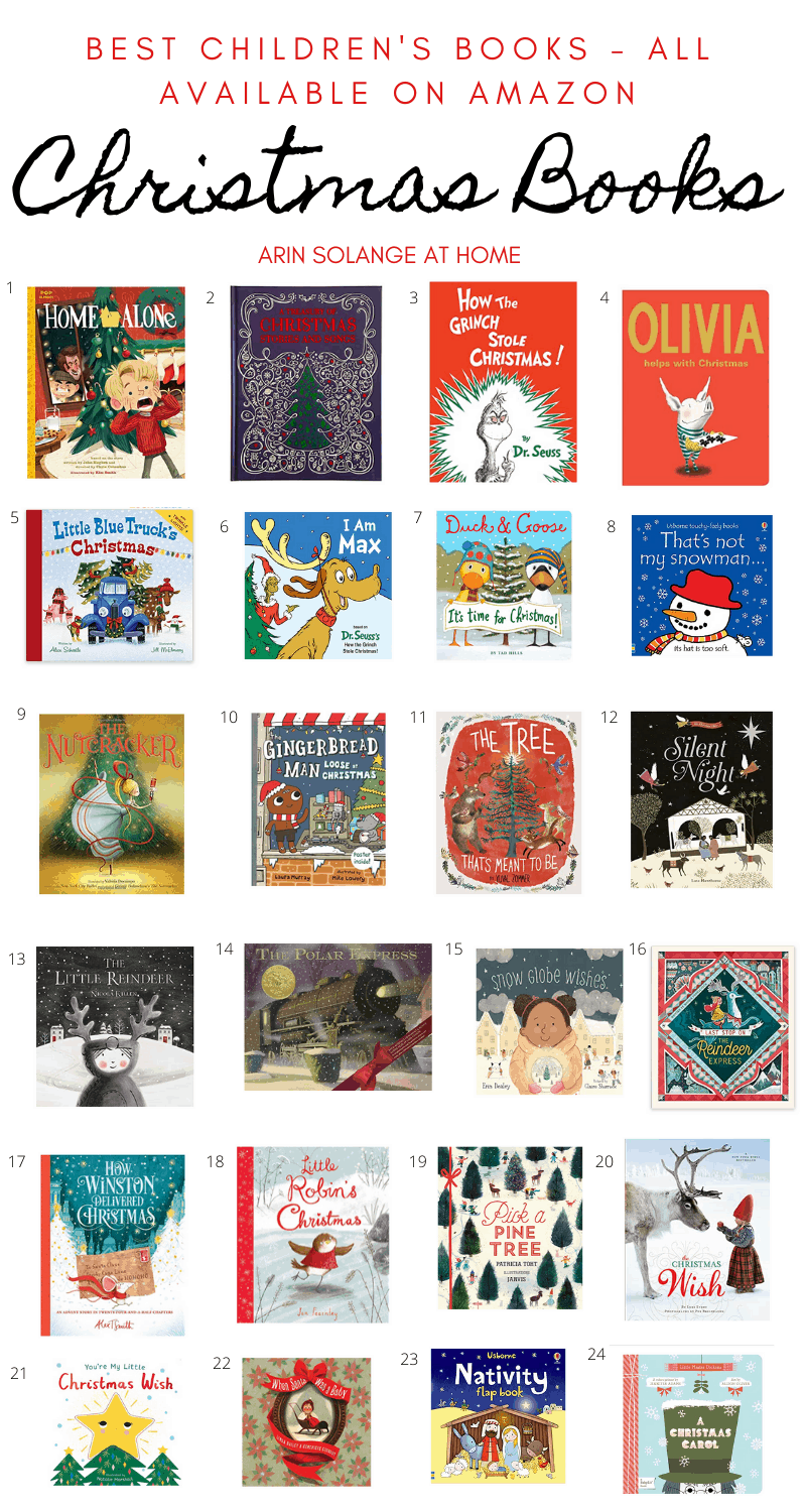 A round up of the best children's Christmas books for display