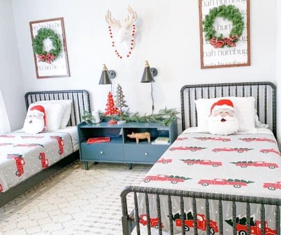 Christmas Boys' room