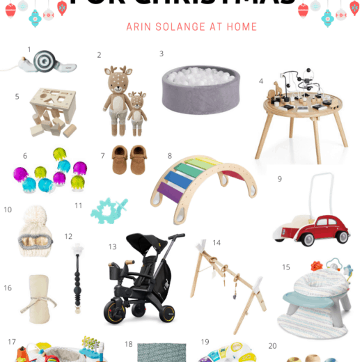 What to buy a baby boy for Christmas