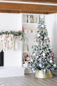 bright and clean Christmas tree