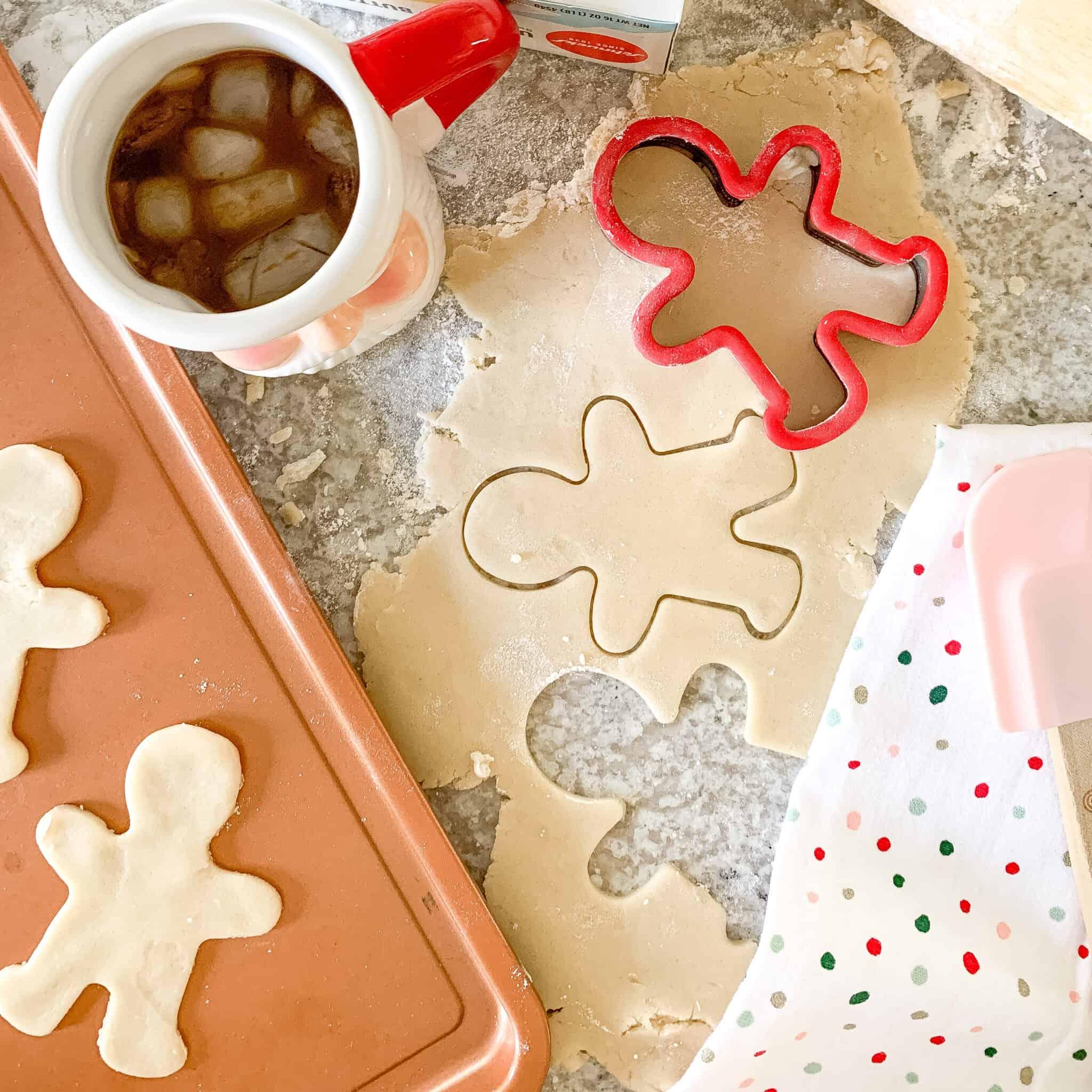 Sugar Cookies Being Baked