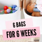 Home Declutter Challenge - 6 Bags for 6 Weeks