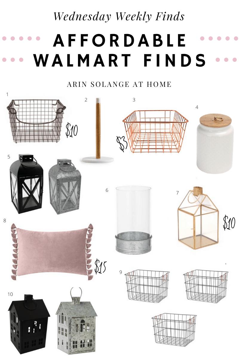 Walmart decor finds