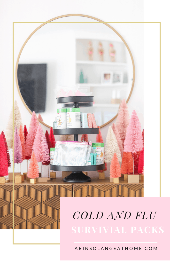 Cold and flu season survival packs