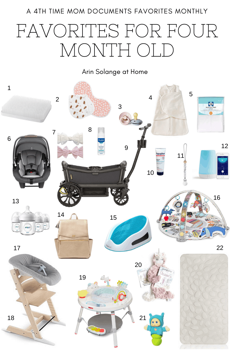 Best items for a 4 month old baby