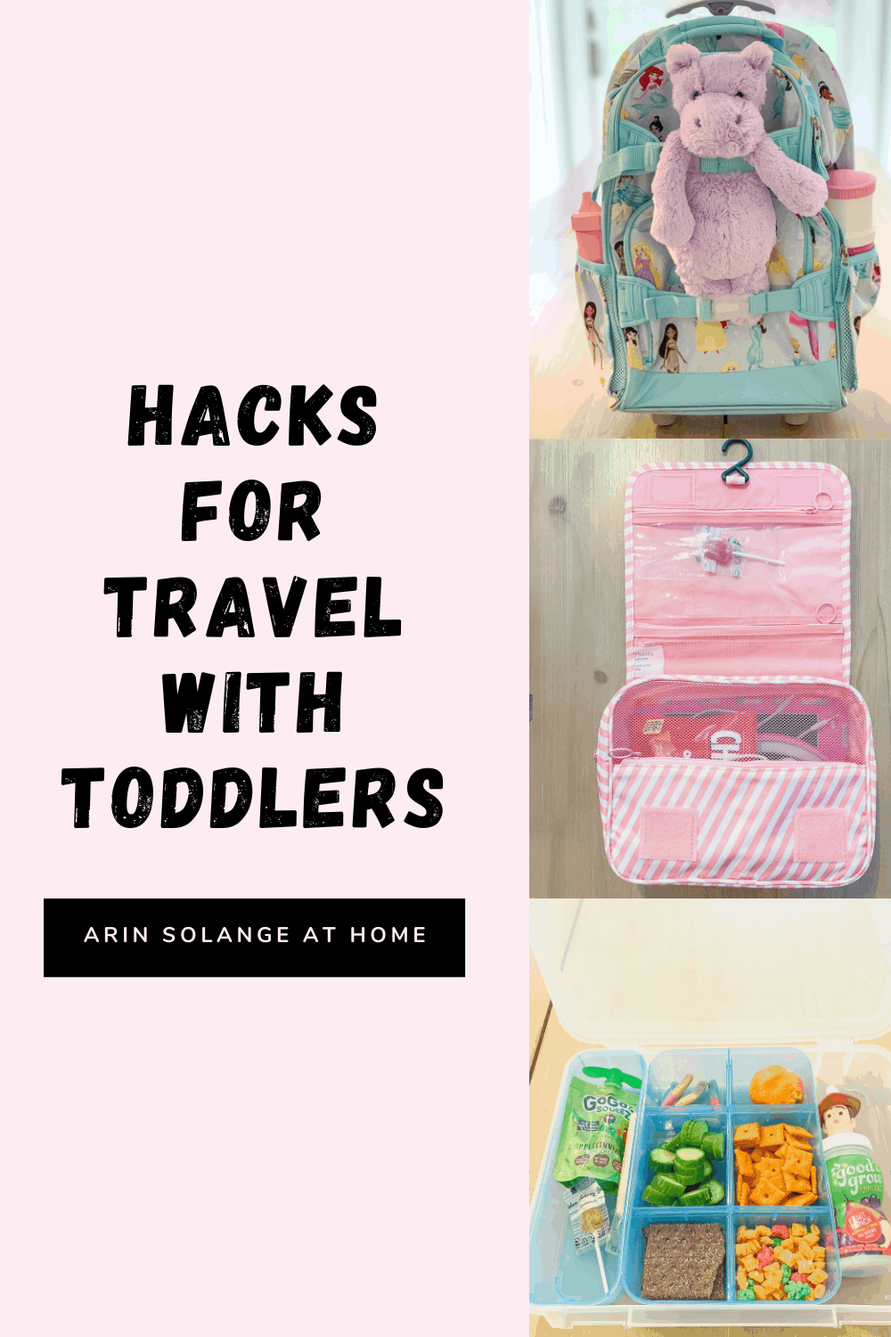 Hacks for Traveling with Toddlers