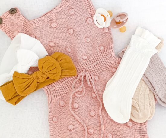 baby girl outfit flatly