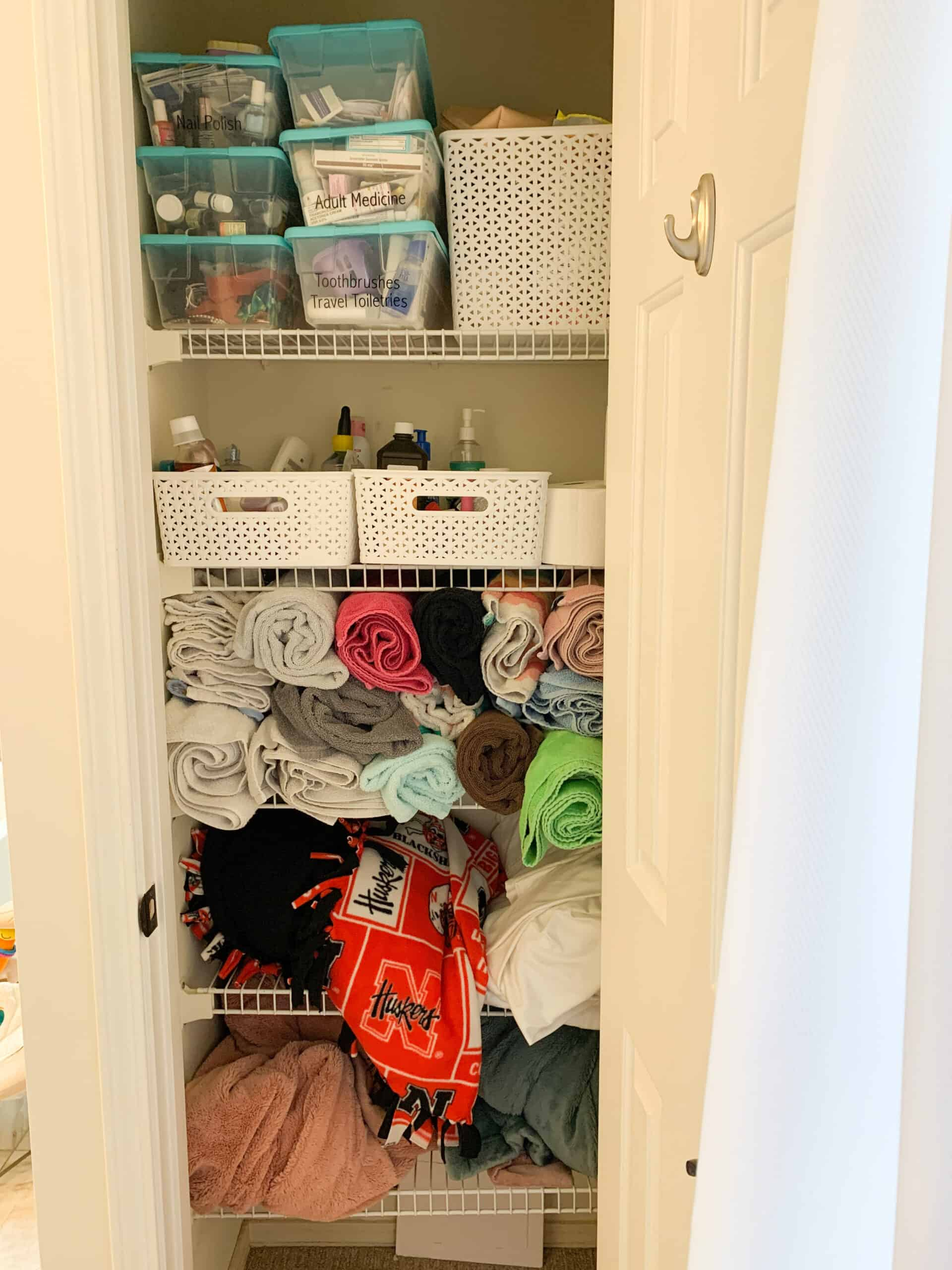 Before of Closet Organization