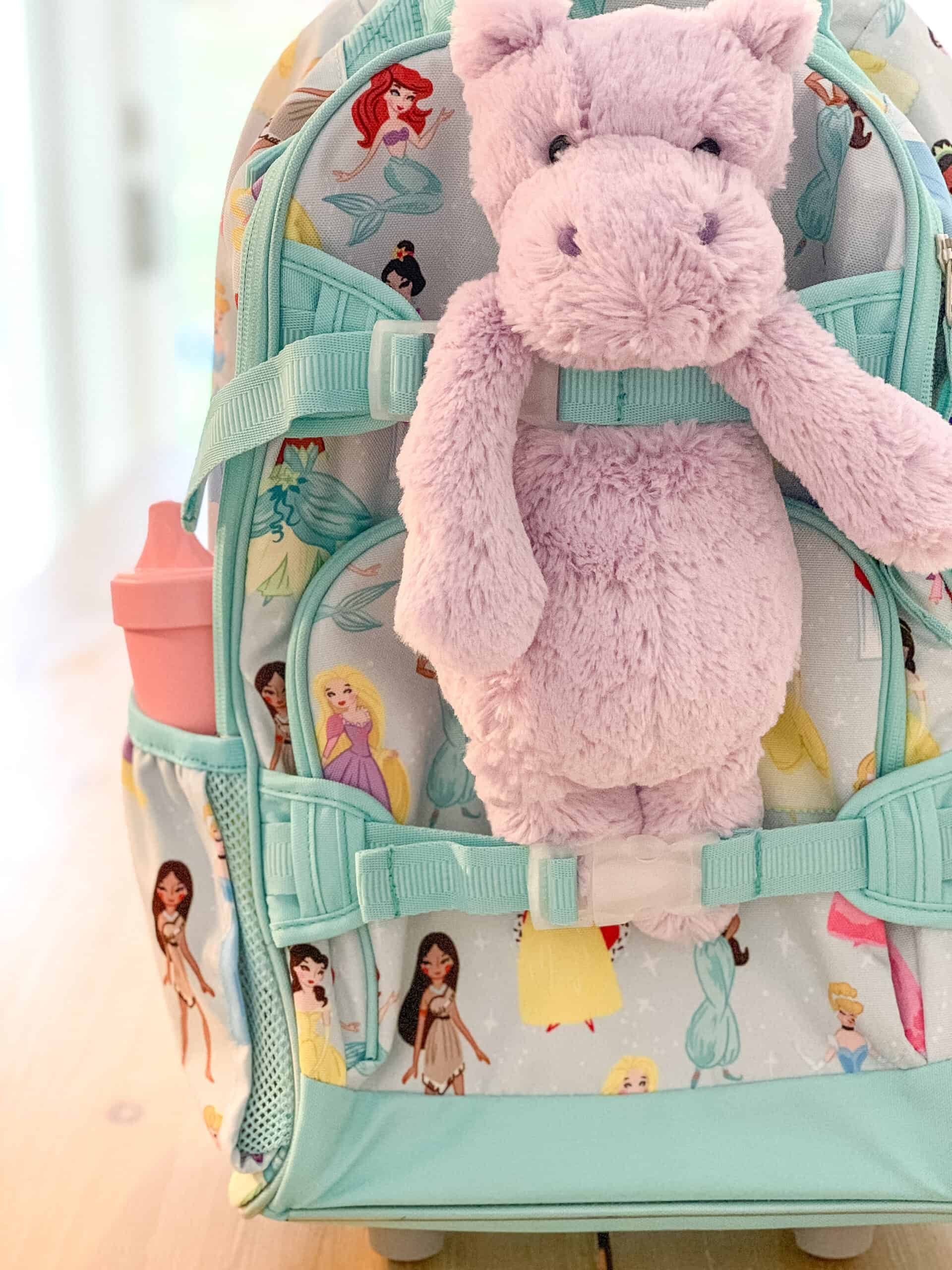 Travel bag for toddlers