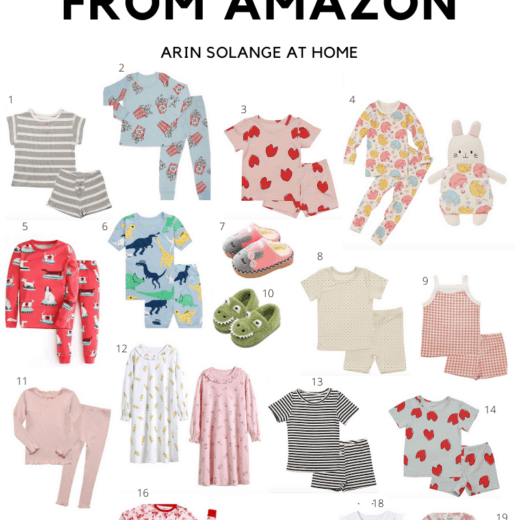 Kids Pajamas from Amazon