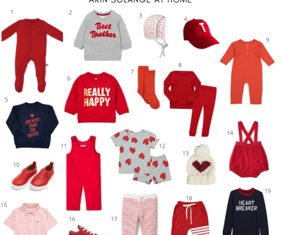 Baby and Toddler Boy Valentines Day Outfits