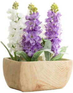wood planter Bowl