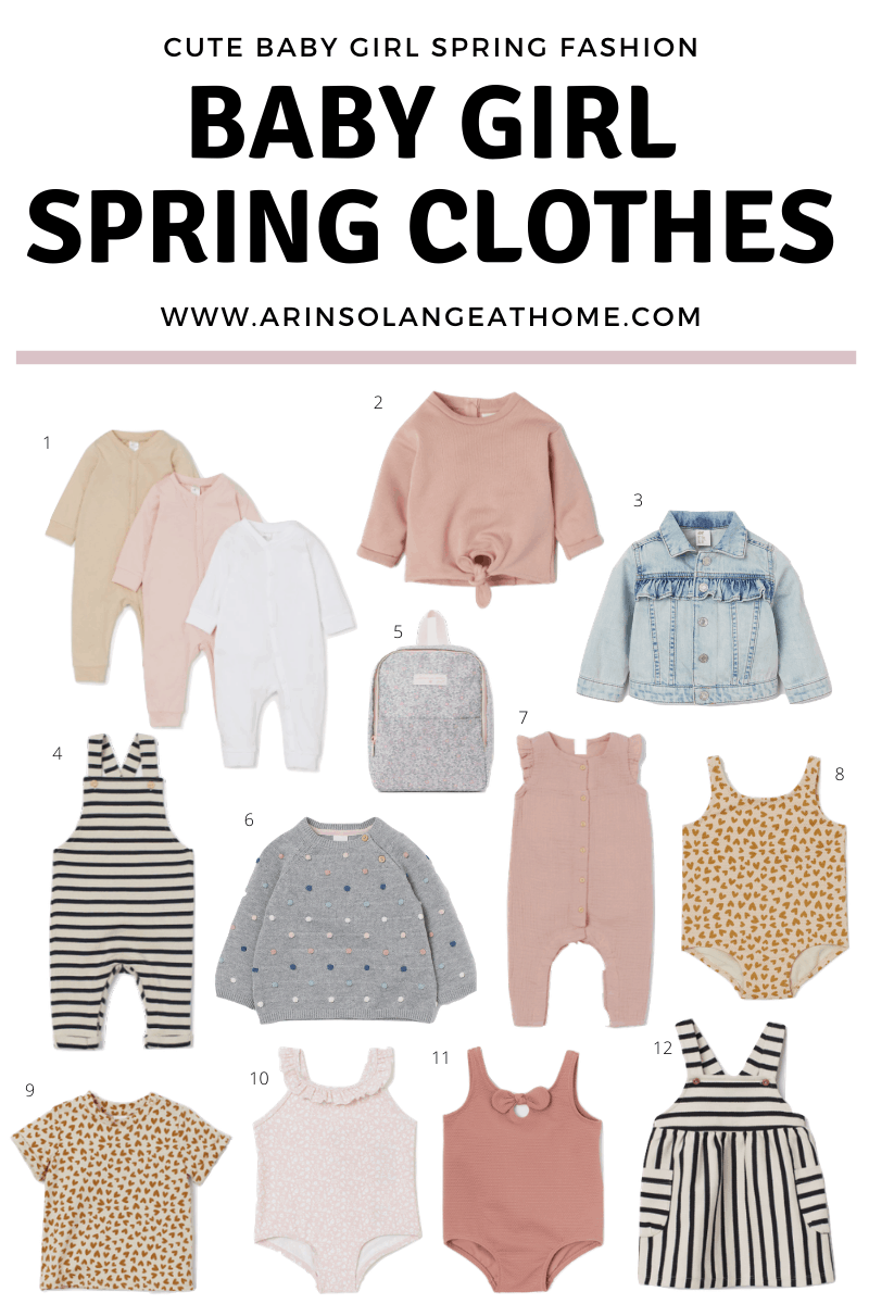 Baby girl Spring Clothes Round up