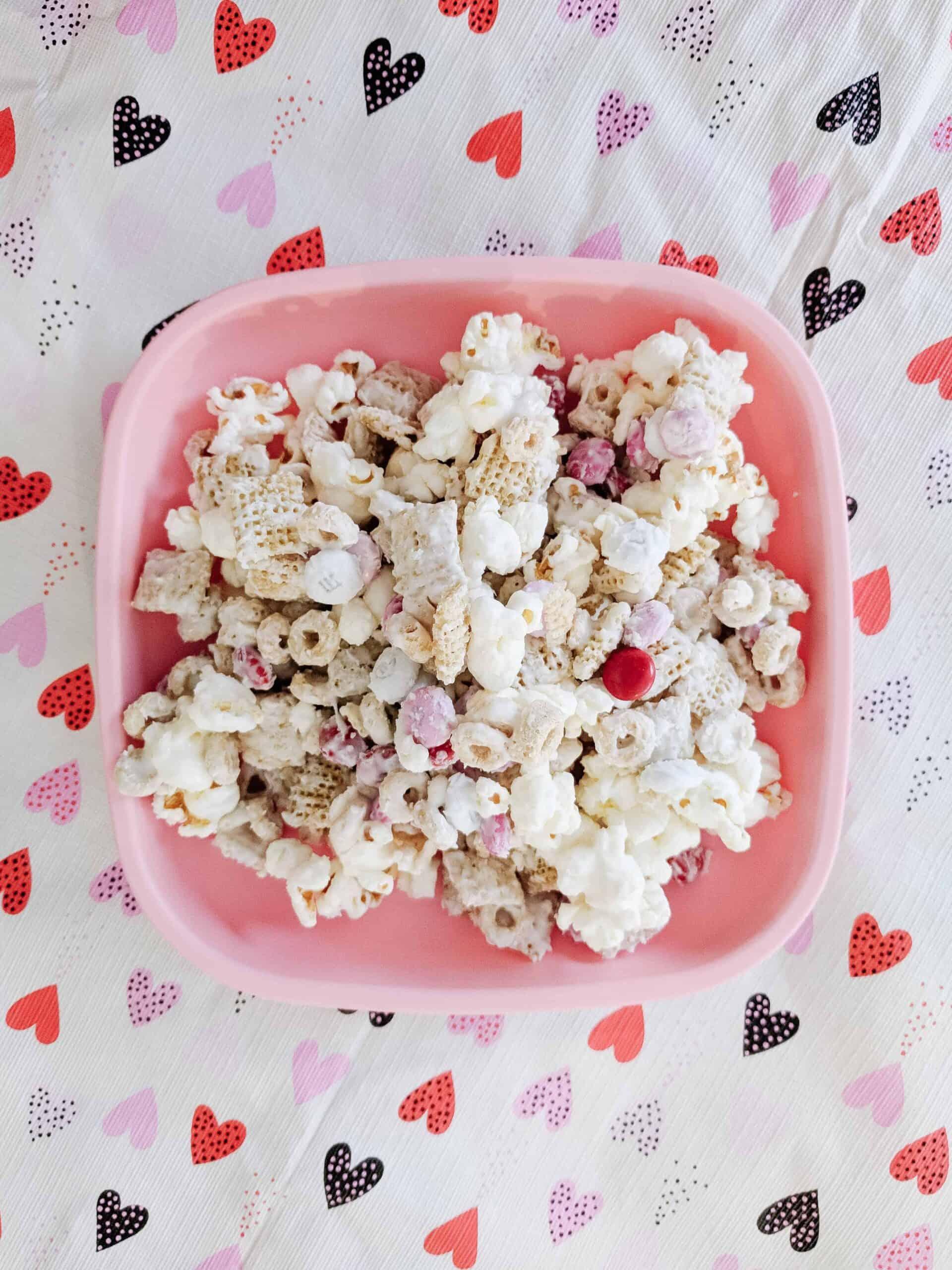 Valentines Day Popcorn Snack