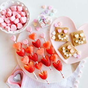 Valentines Day Snack and treat