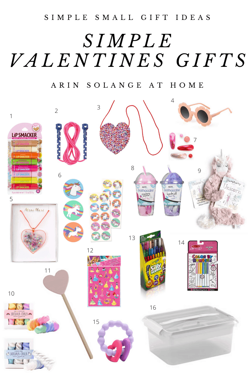 Simple Valentines Day gifts for Kids