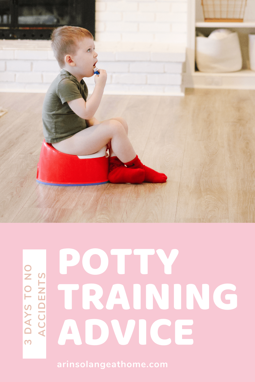 potty training boys advice
