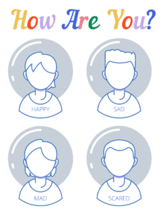 draw the emotions worksheet