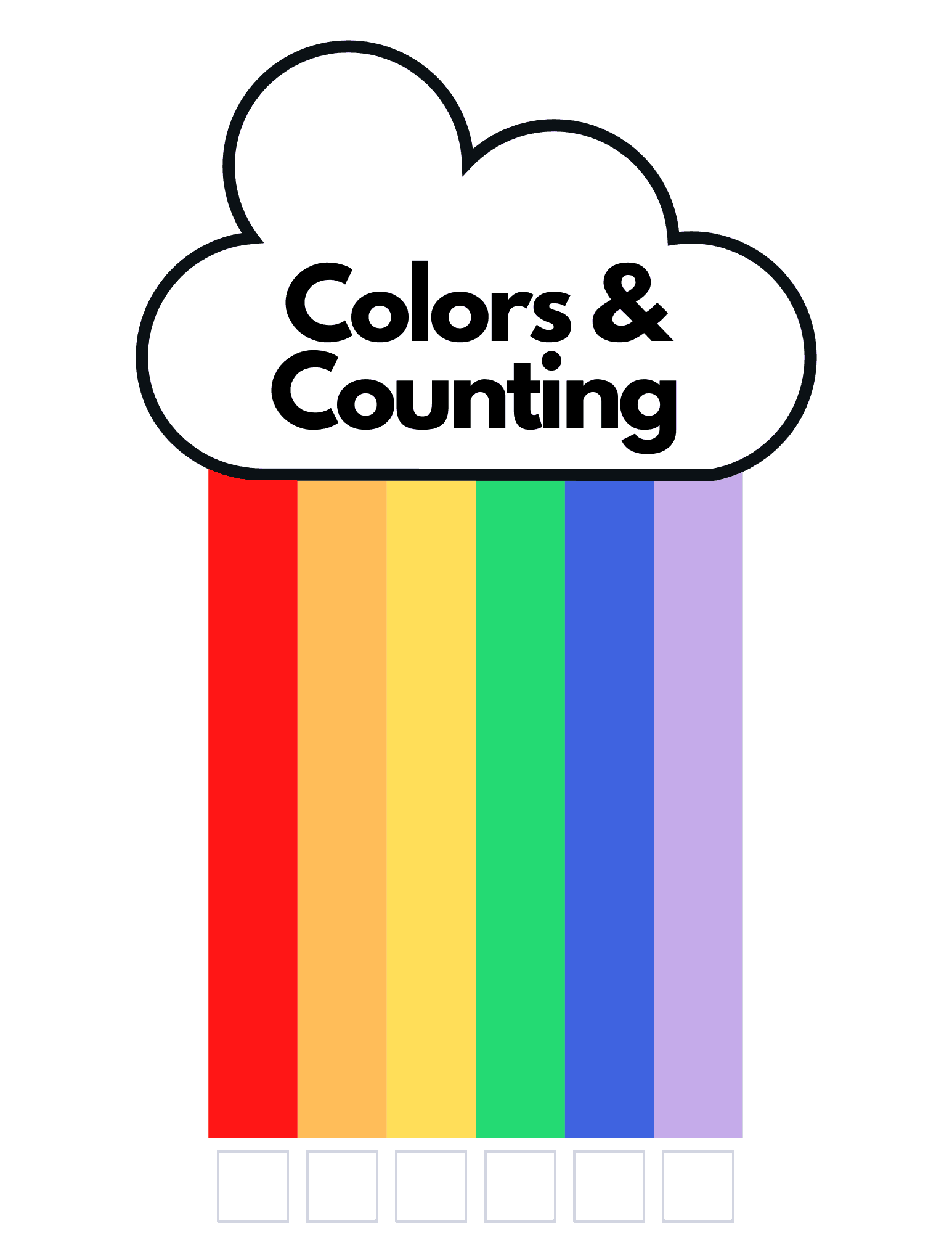 Colors and counting rainbow activity