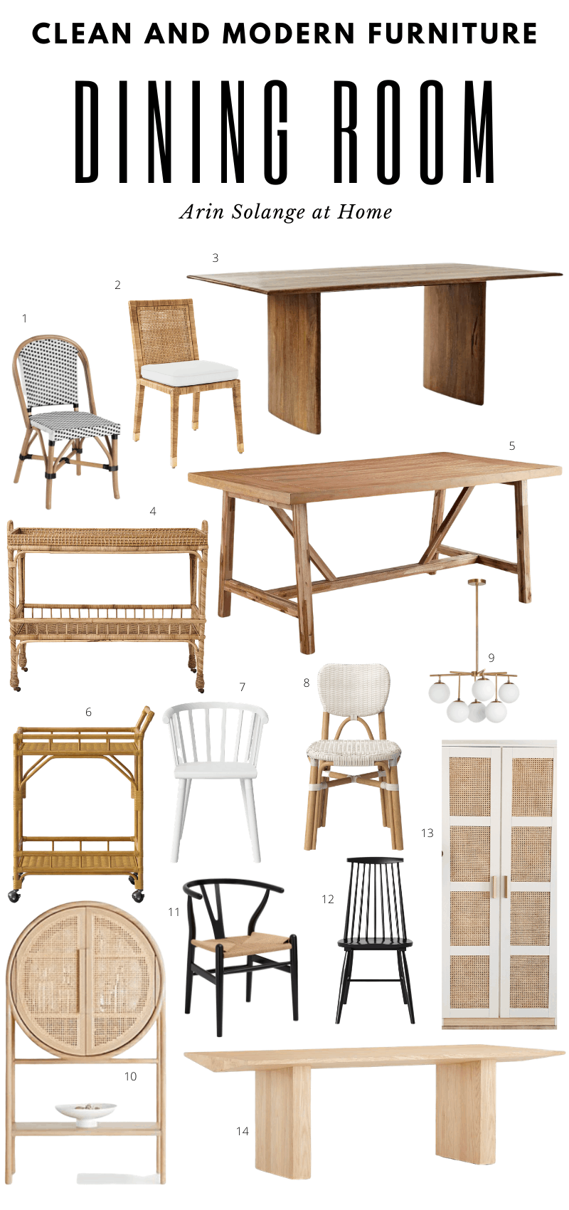 dining room furniture roundup