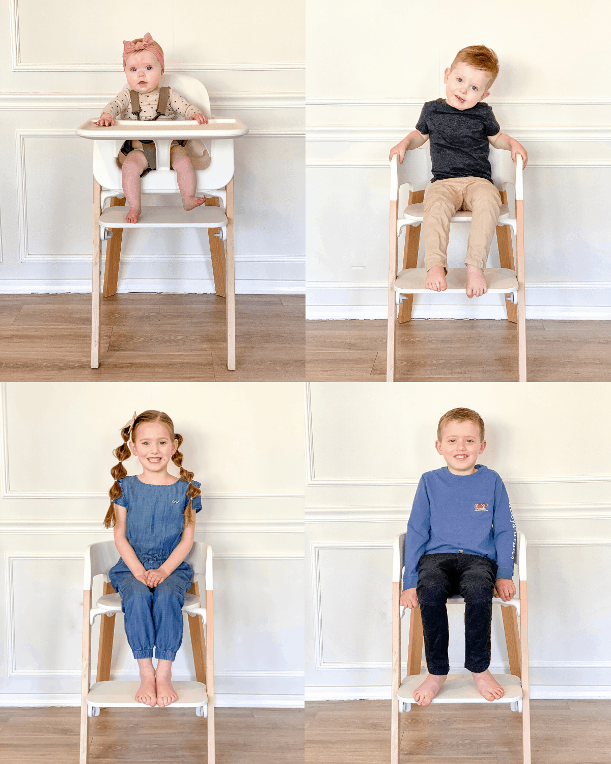 Kids of every age in Stokke Steps Highchair