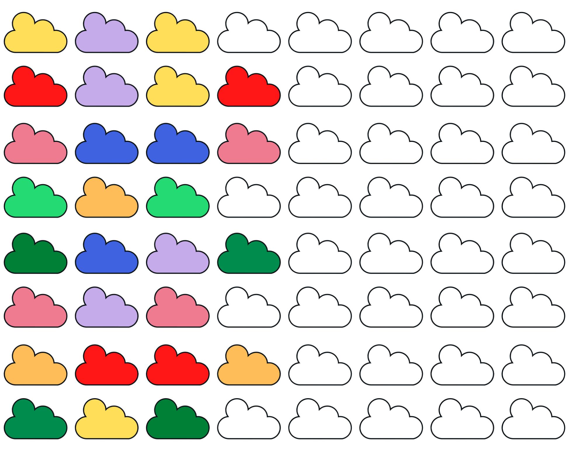 Free printable pattern coloring sheet