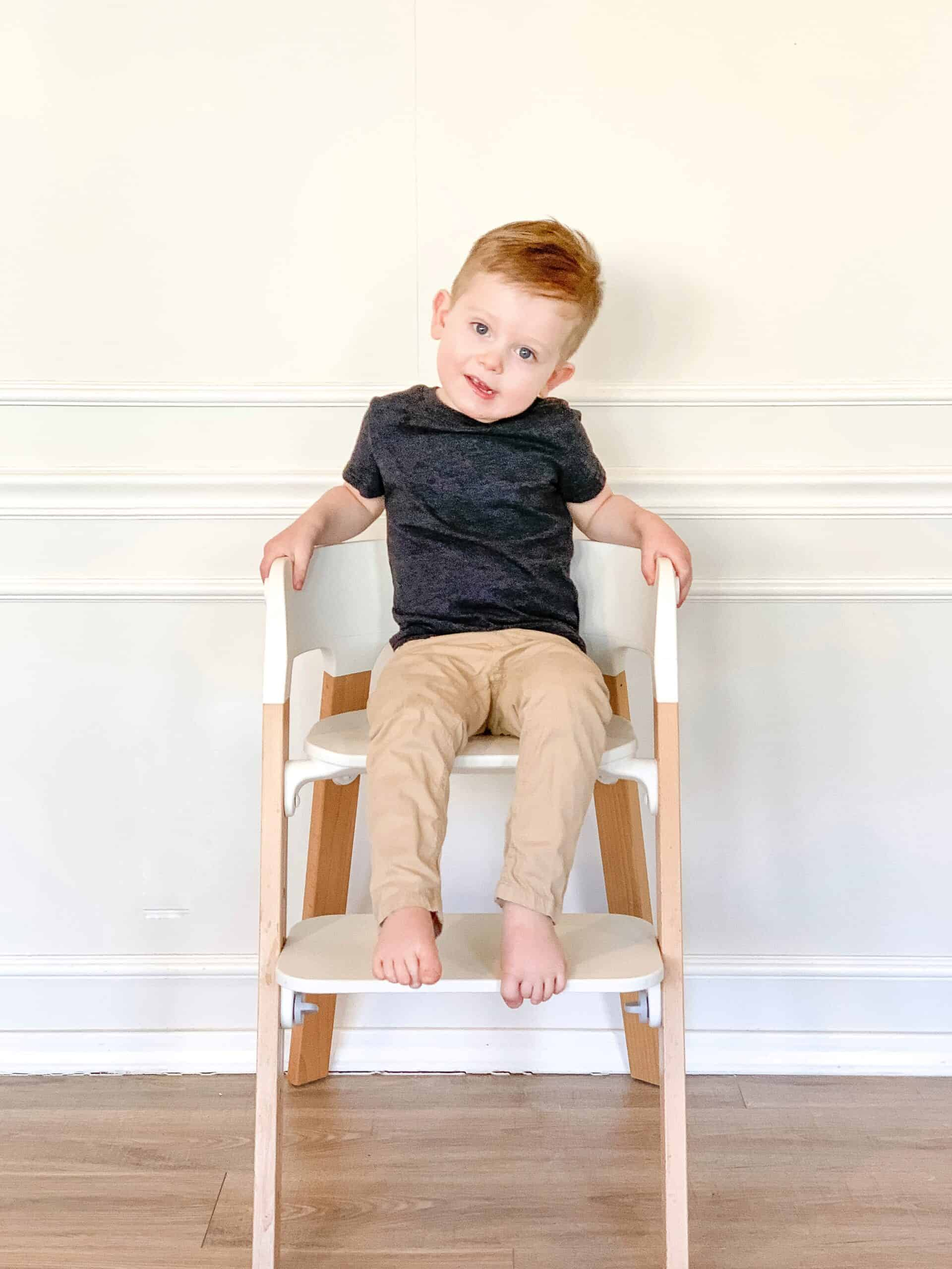 2 Year old on Stokke Steps Chair