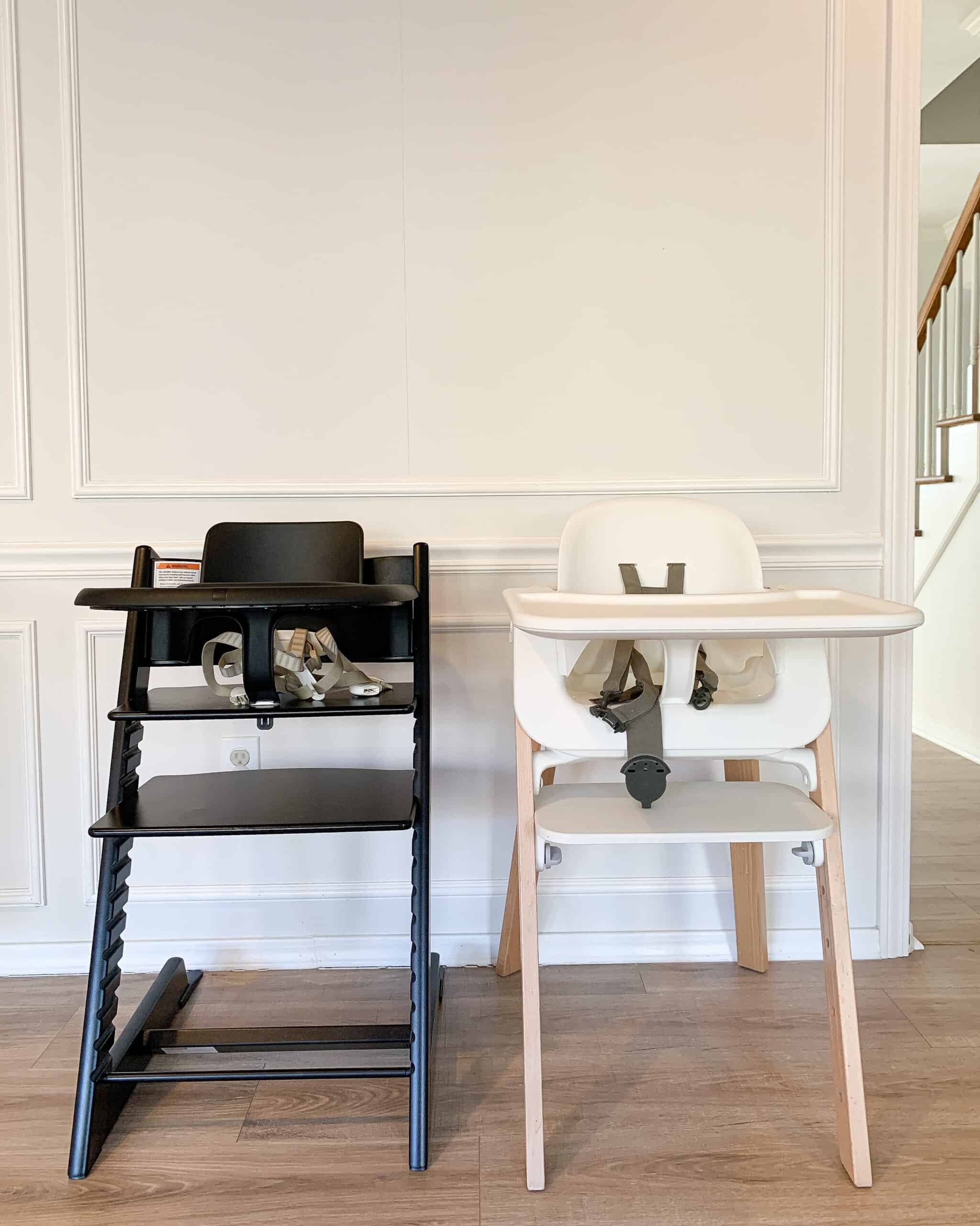 stokke steps and Stokke Tripp Trapp Highchairs