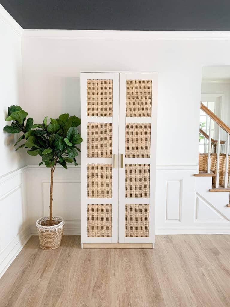 Diy Cane Ikea Brimnes Cabinet