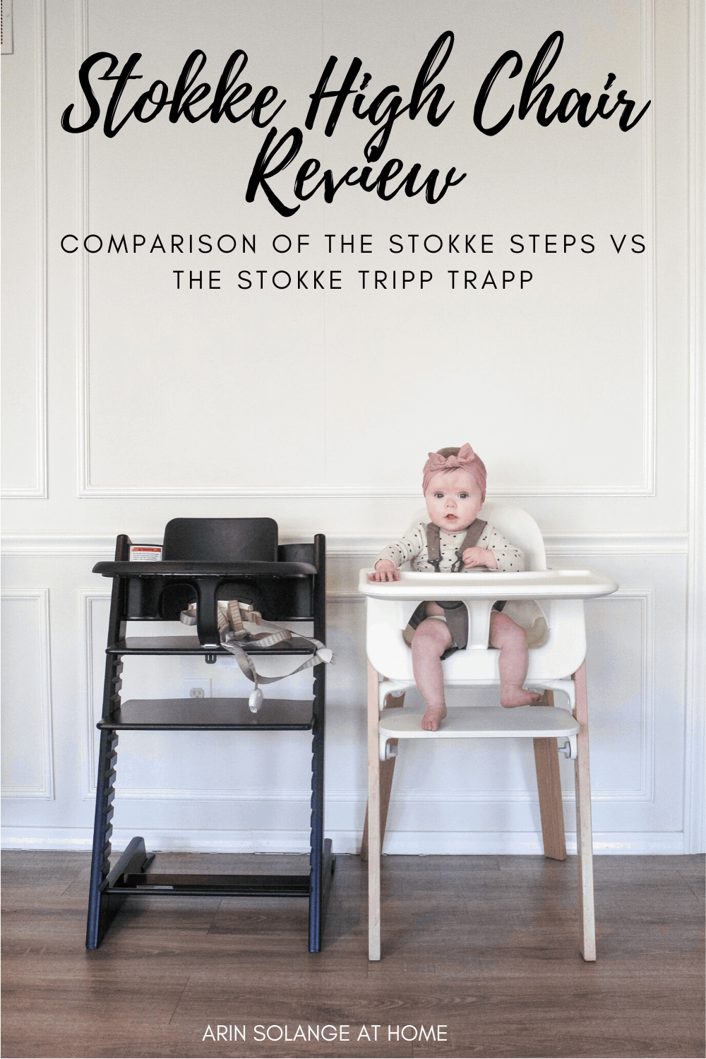 Stokke High chairs - Steps vs Tripp Trapp