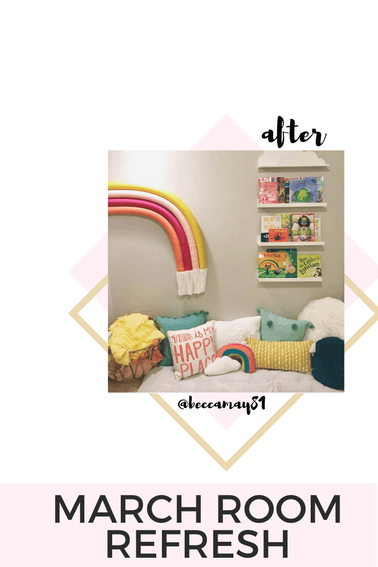 diy rainbow playroom for kids