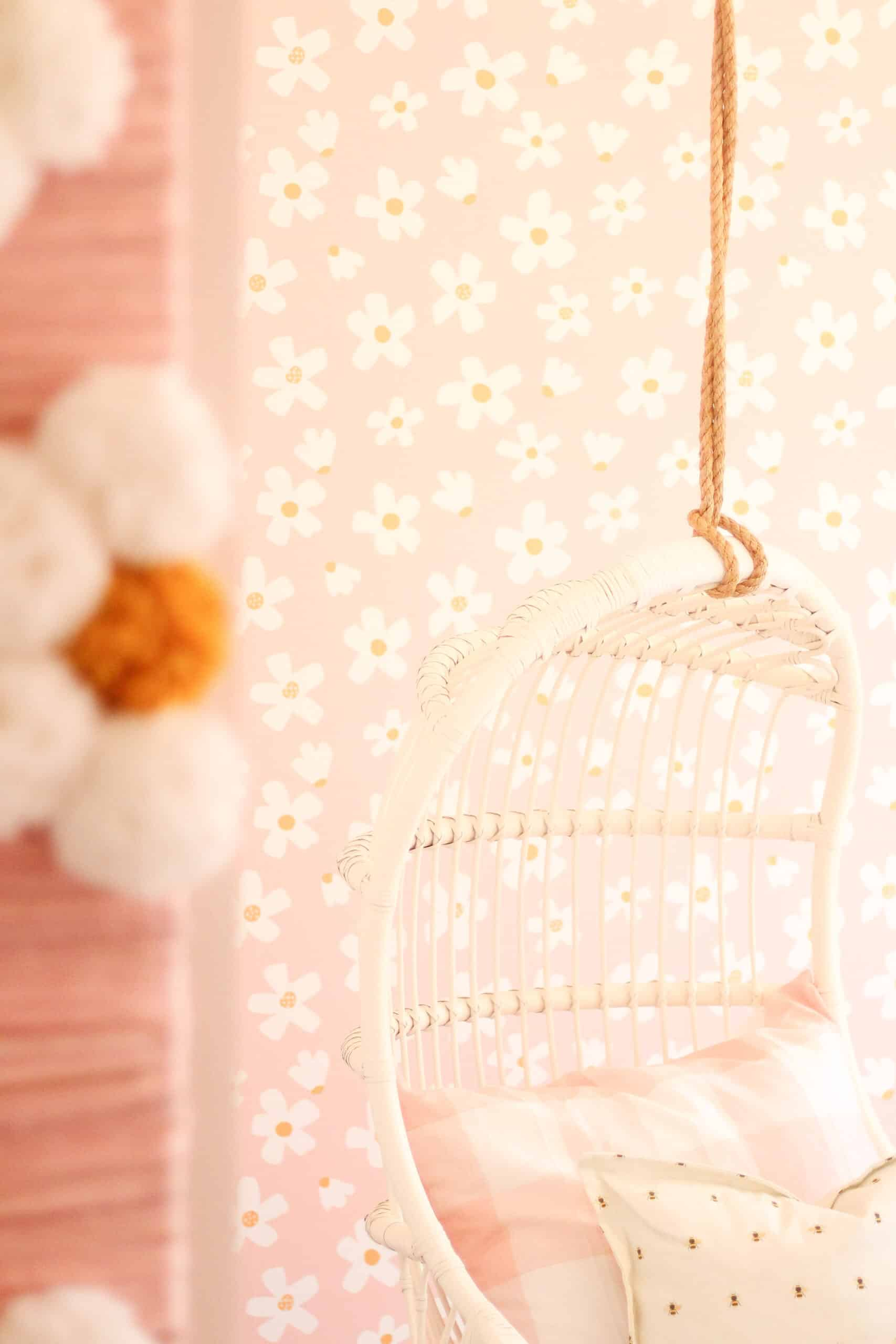 DIY Daisy Wall art