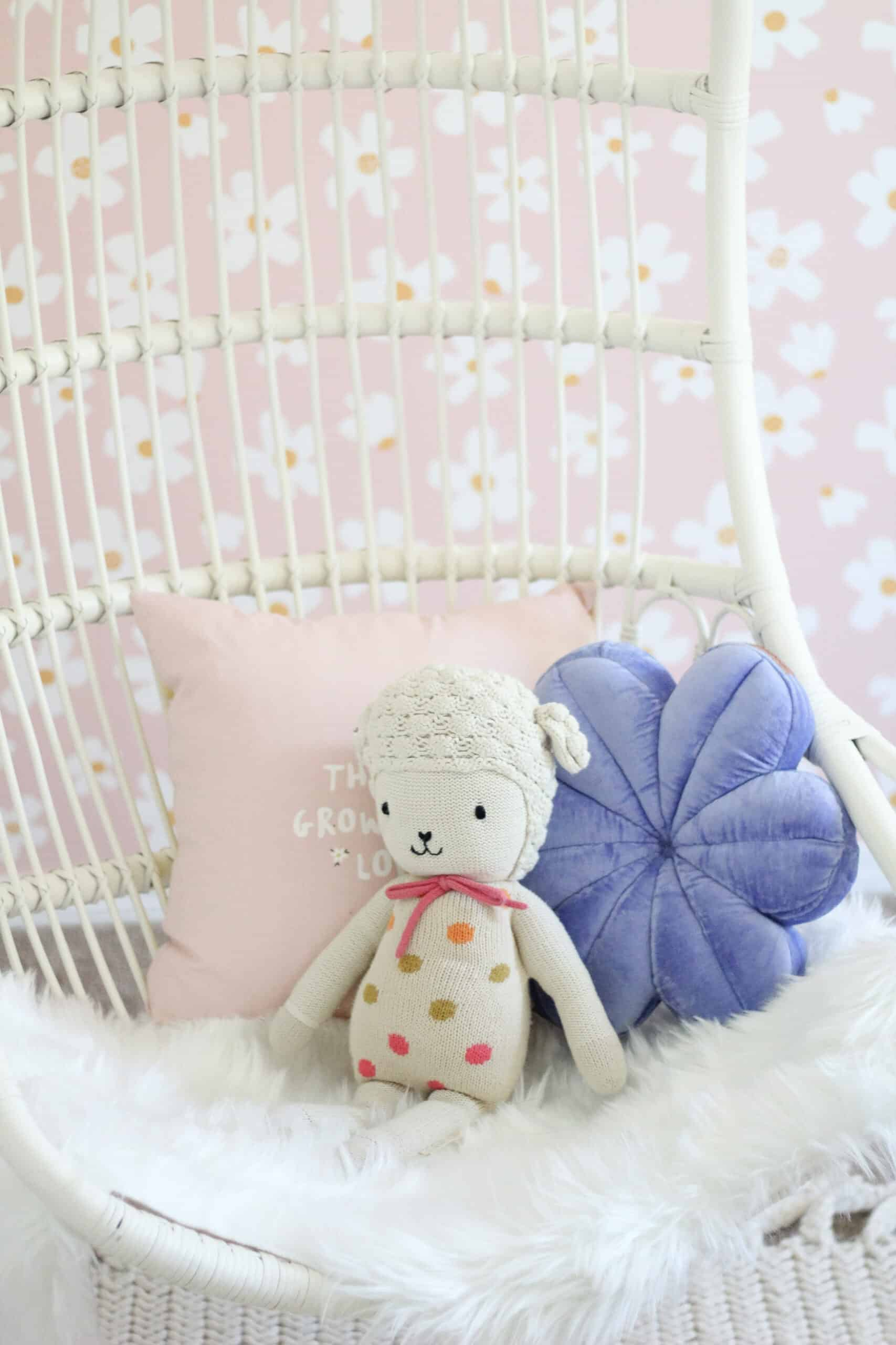 serena and lily chair with cuddle and kind doll
