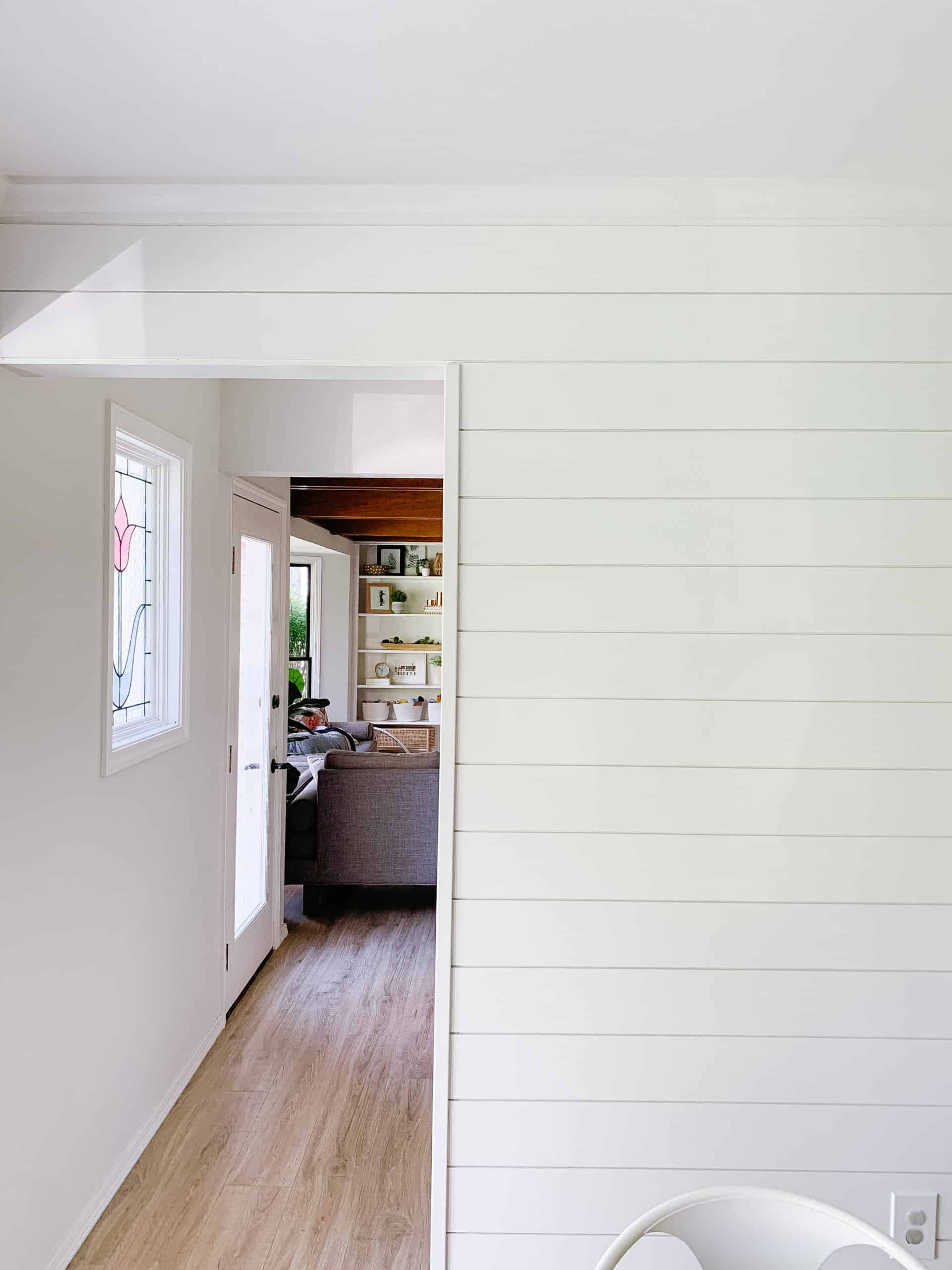 shiplap on exposed corners