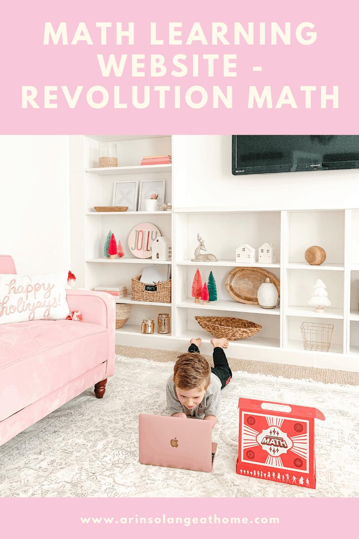 revolution math online learning website