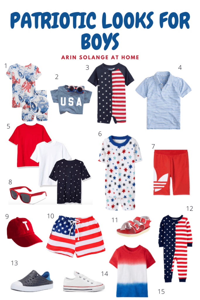 Boys 4th of July outfit round up