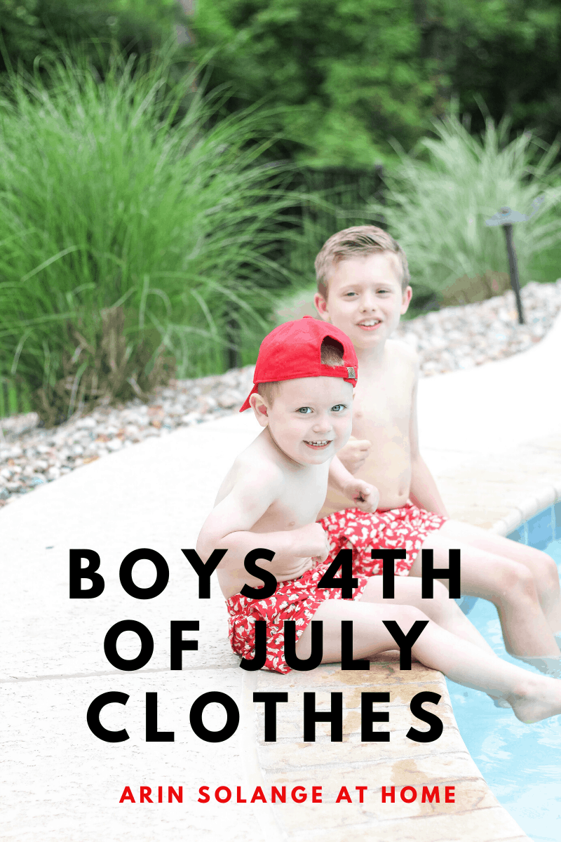 boys 4th of July Outfits