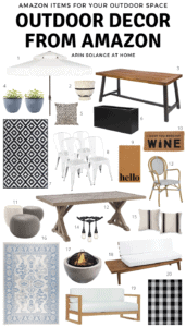 Outdoor Decor and Furniture from Amazon