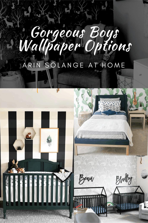 Boys Wallpaper Unique Room Inspiration Arinsolangeathome