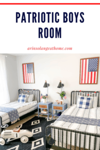 Patriotic Boys Room